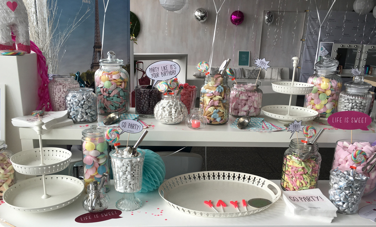 yourfood Catering Köln: Candy Bar Sweets