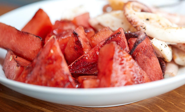 yourfood Catering Köln: Gegrillte Melone für Ihr vegetarisches Buffet